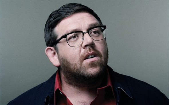 Nick Frost Ponders Playing The Thing In FANTASTIC FOUR
