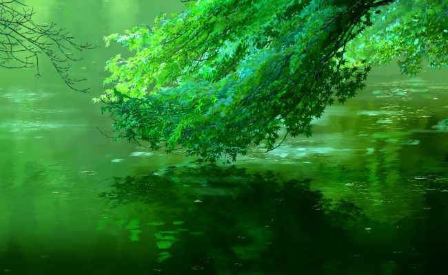 ANIME REVIEW: Makoto Shinkai's The Garden of Words by QG