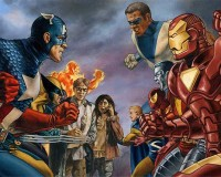 REAL LIFE SUPERHERO CIVIL WAR: Internet Says It's About Time