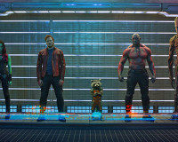 GUARDIANS OF THE GALAXY Test Footage Shows Badass Rocket Raccoon And Groot