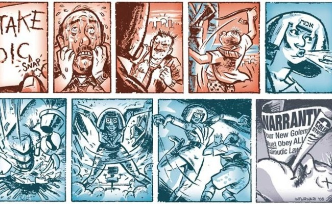 Why Do The Jews Need a Comix Anthology?