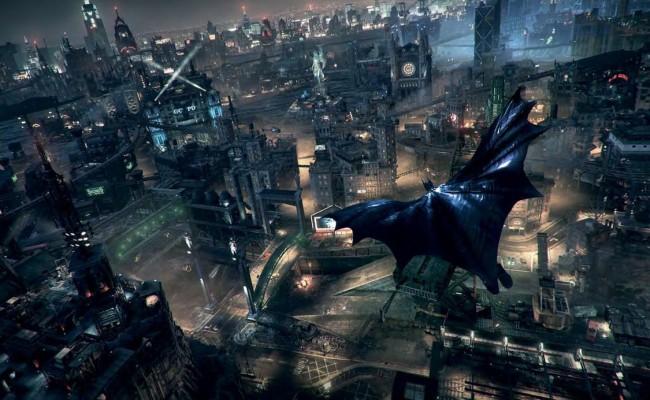 Gotham and More in Beautiful BATMAN: ARKHAM KNIGHT Screenshots