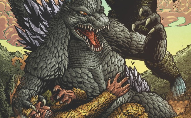 GODZILLA: Rulers of Earth #10 Review