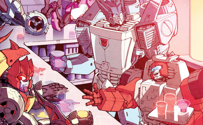 Transformers: More Than Meets The Eye #27 Review
