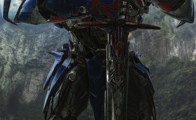 OPTIMUS PRIME Is Big Blue Space Knight In New Pic