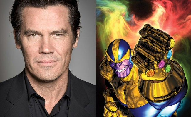 From The Wild West To Outer Space: Josh Brolin Is THANOS!