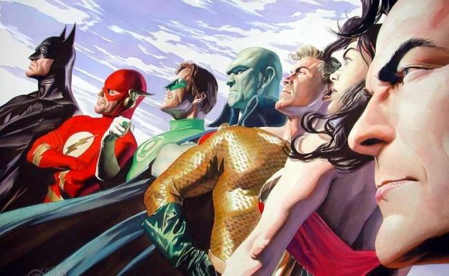 WONDER WOMAN, FLASH/GREEN LANTERN.  Justice League Movie Series Revealed