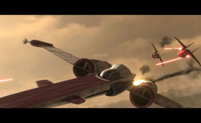 X-Wing's Pappy Spotted on Set of STAR WARS EPISODE 7