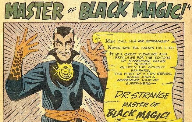 The Dark World of Doctor Strange, Master of The Mystic Arts