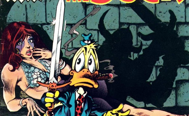 Guess Who's Back? Back Again? Howard The Duck's Back! Tell Your Friends!