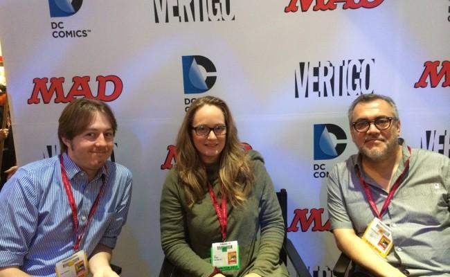 EXCLUSIVE! Sean E. Williams, Cat Staggs & Gilbert Hernandez talk SENSATION COMICS