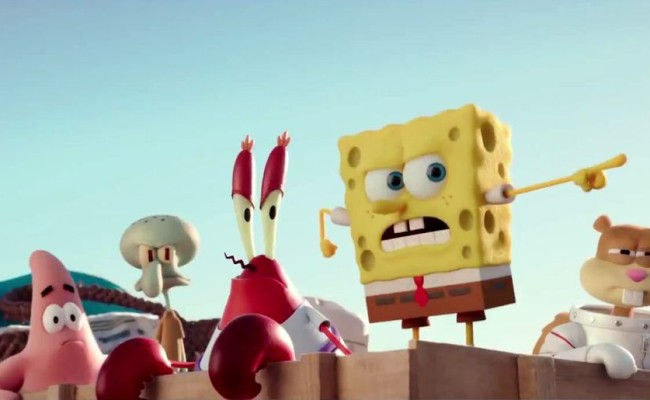 SPONGEBOB SQUAREPANTS And The Gang Travel To The Surface In New Movie