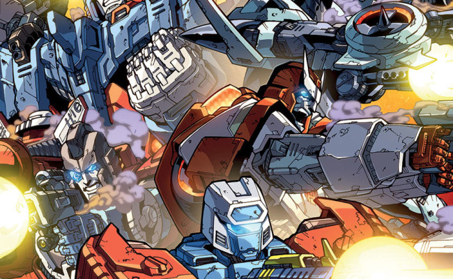 Transformers: More Than Meets The Eye #32 Review