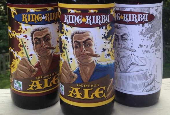 Jack Kirby is Getting His Own Beer! Proceeds Go To Charity.