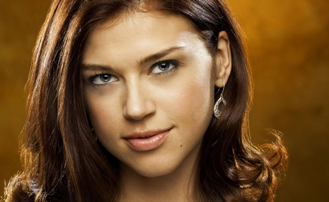 Adrianne Palicki dons her Costume — Don't you MOCK Her!