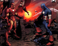 Who's on Whose Side in CIVIL WAR?