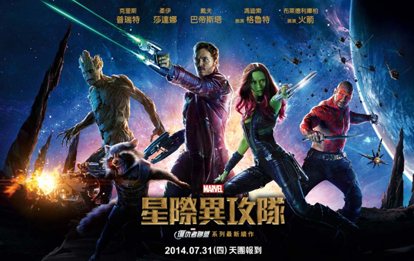 China Totally Screwed Up Translating GUARDIANS OF THE GALAXY