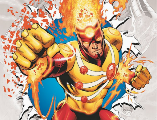 FIRESTORM plus VILLAINS to play a major part in THE FLASH