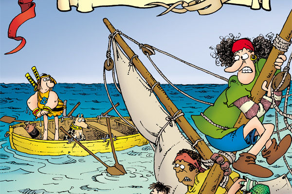 GROO: FRIENDS AND FOES #1 Review