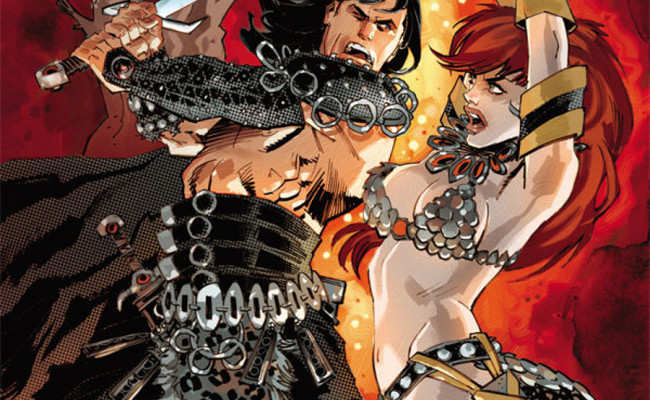 CONAN RED SONJA #1 Review