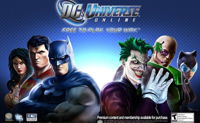 DC UNIVERSE to its fans: Say Bye Bye to your ARMOR!