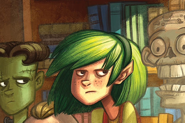 Oddly Normal #5 Review