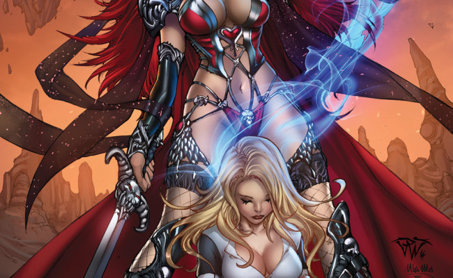 Grimm Fairy Tales presents White Queen: Age of Darkness #2 Review
