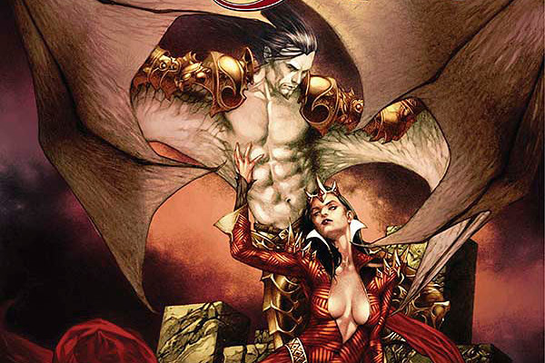 THE BLOOD QUEEN VS. DRACULA #1 Review