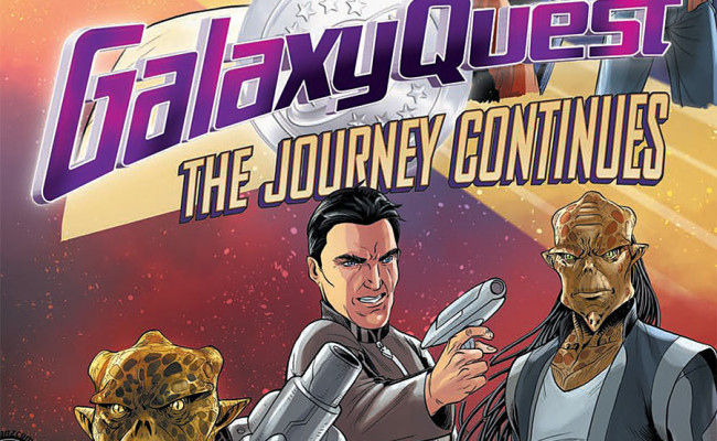 Galaxy Quest: The Journey Continues #4 Review