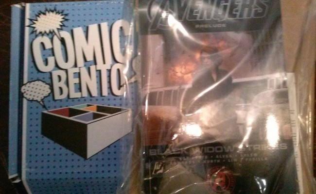 Unboxing Comic Bento's May Box