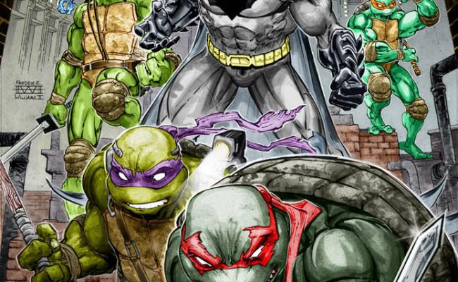 SDCC: BATMAN Meets the TEENAGE MUTANT NINJA TURTLES…?