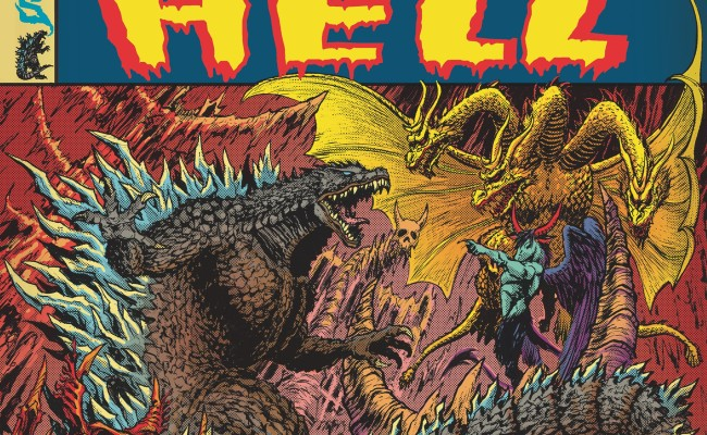 GODZILLA IN HELL #4 Review