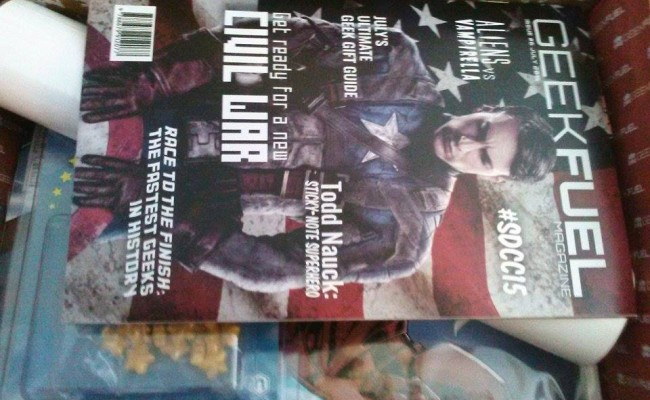 Unboxing July's Geek Fuel: UPDATED AUGUST PREVIEW