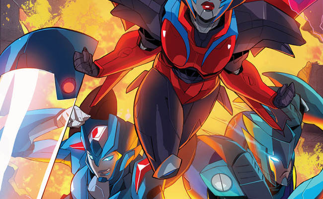 TRANSFORMERS: Windblade #5 Review