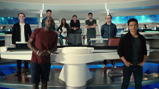 Prepare to go (STAR TREK) BEYOND with STAR WARS: THE FORCE AWAKENS