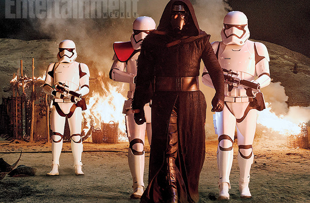 Who is Kylo Ren in STAR WARS: THE FORCE AWAKENS?