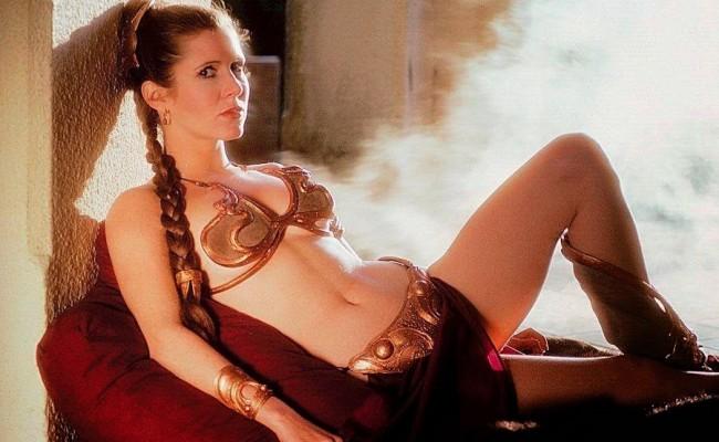 Say Good Bye to Leia's Gold Bikini