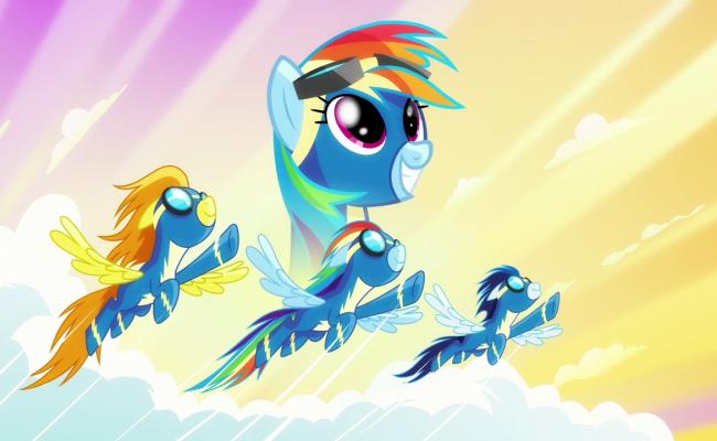"My Little Pony: Friendship is Magic ""Newbie Dash"" Review"